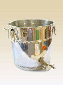 Imkereibedarf Abfüller mit Metallhahn